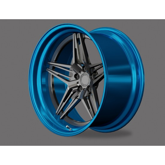 HE FORGED WHEELS SHS-SERIES 2 PIECE