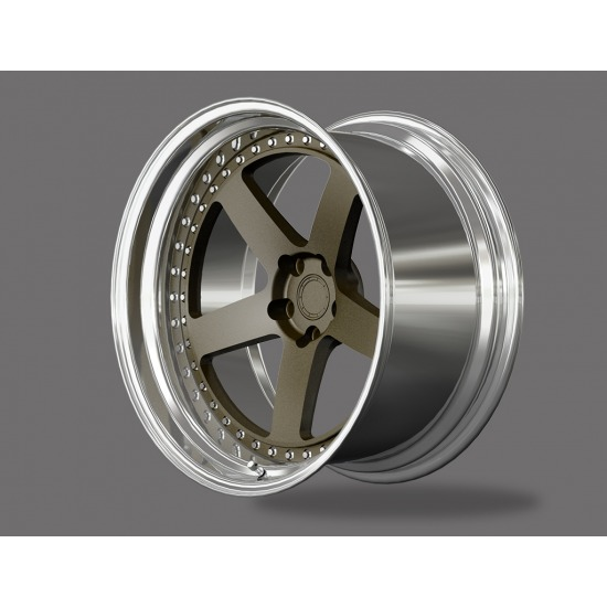 HE FORGED WHEELS SIS-SERIES 2 PIECE