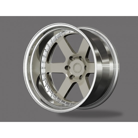 HE FORGED WHEELS HH-SERIES 2 PIECE