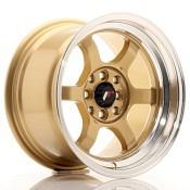 Japan Racing JR12 Gold Lip Polished