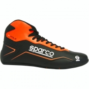 Sparco Kartschuh K-POLE schwarz/orange