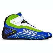Sparco Kartschuh K-RUN  blau/grün