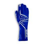 Sparco Handschuh Lap dunkelblau/weiß