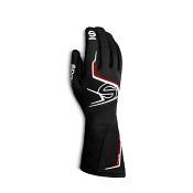 Sparco Handschuh Tide  schwarz/rot