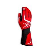 Sparco Handschuh Tide  rot/schwarz