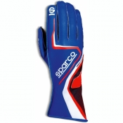 Sparco Karthandschuh Record blau/rot