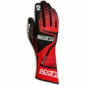 Sparco Karthandschuh Rush rot Kind
