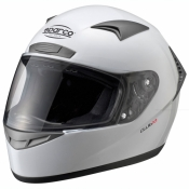 SPARCO Racing Helm Club X1 Weiss