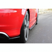MAXTON Design HECK DIFFUSOR SEITE L + R AUDI RS3..