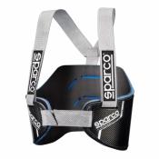 SPARCO Kart Rippenschutz Carbonio schwarz-grau