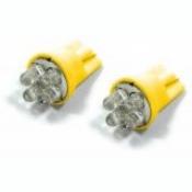 4fach SUPER LED Standlichtbirnen Birnen T10 Gelb