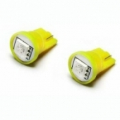 SMD LED Birnen Standlichtbirnen T10 W5W Xenon Gelb
