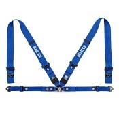 SPARCO Racing Gurt 4-Punkt  blau