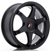 1SATZ Japan Racing JR-3 Schwarz Matt 7x17 4x114...
