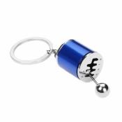 Getriebeschaltung Schlüsselanhänger Blau