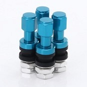 Set of Aluminum air valves JR v2 - BLUE