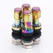 Set of Aluminum air valves JR v2 - NEOCHROME