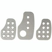 OMP Set mit 3 vorgebogenen Aluminiumpedalen für ..