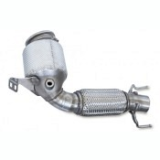 HJS Downpipe (mit ECE Zulassung) Mini Cooper F54-F60 / 2.0 Euro 6 / Ø70 mm