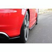 MAXTON Design HECK DIFFUSOR SEITE L + R AUDI RS3 8P