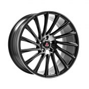 AXE WHEELS EX32 BLACK POLISHED FACE & TINTED