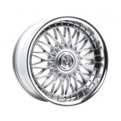 AXE Wheels EX10 SILVER & POLISHED LIP