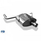 FOX-Endschalldämpfer Mini One/ Cooper R50 Endschalldämpfer - 1x80 Typ 13