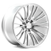 AXE WHEELS CF2 Compression Forged Silver Polished