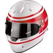 SPARCO Racing Helm AIR PRO 1977 RF-5W Weiss-Rot,FIA 8859/2015