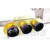 FERRARI 458 ITALIA / SPIDER 09/-Invidia Titanium Cat-back system inkl. Montagematerial