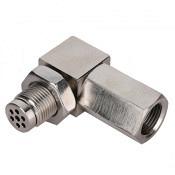 Lambdasonden Eliminator / Spacer inkl Metallkat 90° Winkel