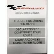 CH-FELGEN GUTACHTEN Z.PERFORMANCE Wheels Monoblok