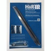 H&R Radlauf-Verbreiterungsleisten aus Kunststoff