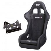 OMP Rennsitz First-R + Stahl-Sitzkonsole