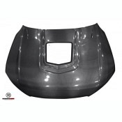 DARWINPRO HOOD WITH GLASS Carbon fiber hood with glass For Audi A7 RS7 C7 (2014-2017)