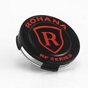 Rohana RFX Center Cap - Schwarz / Rot glänzend