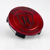 Rohana RFX Center Cap - Glanz Rot / Schwarz