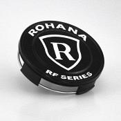 Rohana RFX Center Cap - Mattschwarz / Weiß