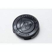 Rohana RF Center Cap - Metall / Flat - Schwarz glänzend